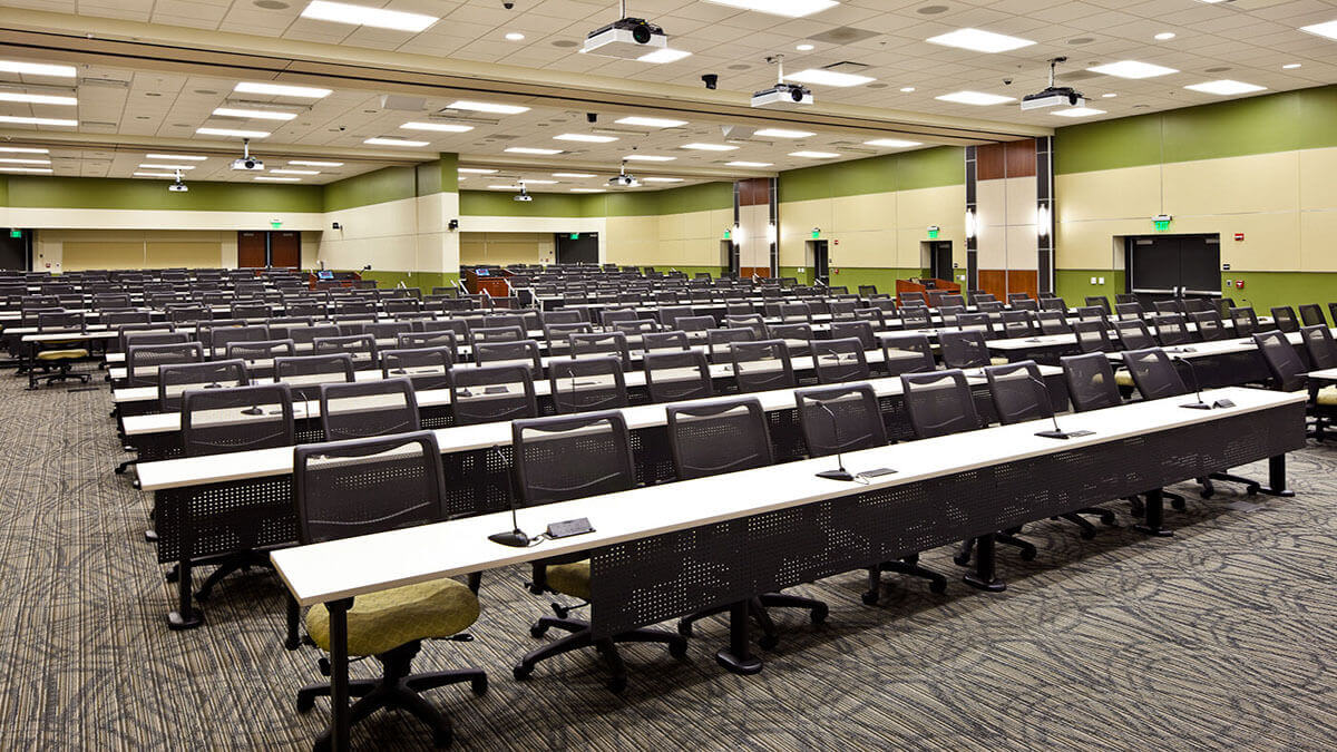 Classrooms in USF