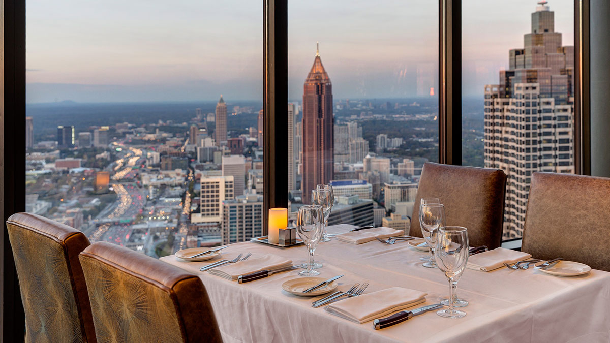 Photo of Everything About Sun Dial Restaurant in Atlanta