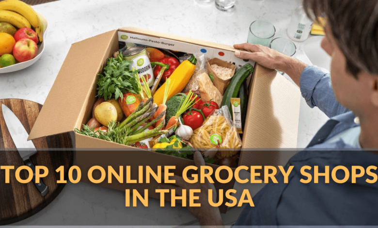 List of Best Online Grocery Shops in the USA